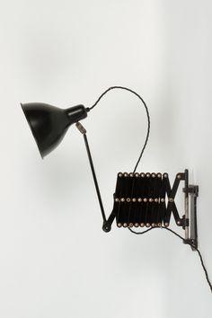Swiss Industry Scissor Lamp 30's - Okay Art