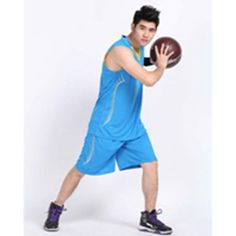 Breathable Basketball Jersey Sport Jerseys Training Jersey Gym Jerseys tops and shorts