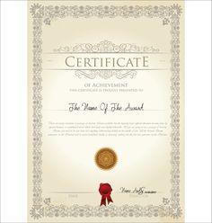 Certificate Template 05 Certificate Border, Certificate Of Achievement Template, Certificate Templates, Dollar Tattoo, Free Planner, Planner Inserts, Vintage Tags, Artwork Design, Editorial Design