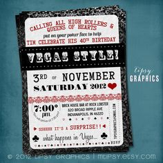 Casino party inviteslove the wording on this one want to do a surprise poker party or shower invitation by tipsy graphics lucky in love stopboris Image collections