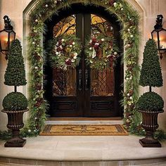 .Christmas outdoor decor