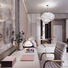 Interior Styling Chic - Interior Ideas For Small Spaces - Interior Designers Headshots - Condo Interior Design, Bar Interior, Studio Interior, Luxury Bedroom Design, Interior Garden, Interior Ideas, Interior Styling, 2 Bedroom Apartment, Apartment Living