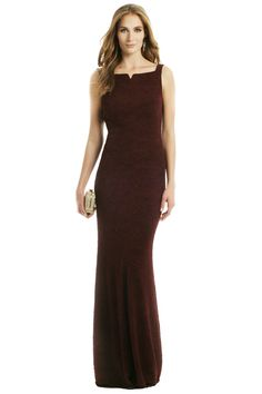 $75 (rent only): Rent Wine and Dine Gown by David Meister for $75 only at Rent the Runway.