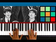 """How To Play """"Let It Be"""" Piano Tutorial / Sheet Music (The Beatles) - http://blog.pianoforbeginners.net/piano-tutorial/play-let-piano-tutorial-sheet-music-beatles"""