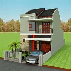 5 Desain Rumah Minimalis 2 Lantai Ukuran 6x9 Terbaru 2018 Desain