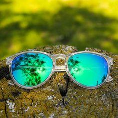 416523818 Clear / Green Moonshine Mai Tais. Knockaround SunglassesPolarized ...