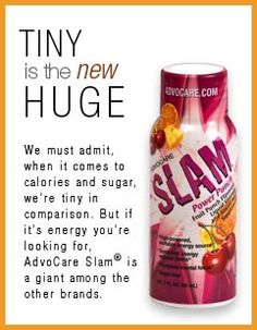 AdvoCare Slam® - My first love is Spark but this is her friend!   www.advocare.com/11061895