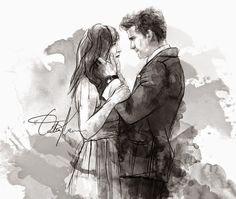 Christian & Anastasia by Özlem Karalar      Dakota & Jamie by Özlem Karalar      Anastasia Steele by Özlem Karalar      Anastasia & Chri...