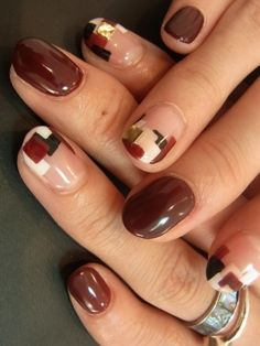 High-Impact Nail Art Ideas - Make a statement with one of these high-impact nail art ideas. This quick beauty update offers you the chance to break out of the boring shell and land in the spotlight.