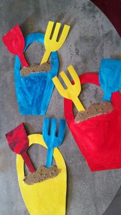Crafts For Kid Inspiration For Children Of All Ages : Crafts For Kid Inspiration. Over Easy Craft Ideas for Kids - the ultimate list and guide to kids crafts. Easy crafts for kids that any age can do. Summer Crafts For Kids, Summer Art, Summer Kids, Spring Crafts, Art For Kids, Summer Crafts For Preschoolers, Ocean Crafts, Beach Crafts, Toddler Art
