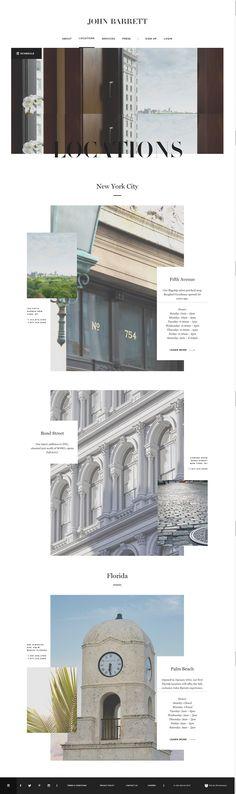 https://johnbarrett.com/locations/  Web design -