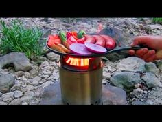 5 Amazing Portable Wood Burning Stoves Product Design and Ideas Garden Wood Burner, Portable Camping Stove, Camping Gear, Cooking With Coconut Oil, Cooking Rice, Outdoor Cooking Stove, How To Cook Rice, Stove Oven, Rocket Stoves