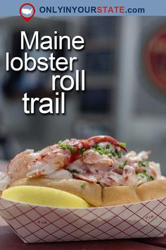 Travel | Maine | New England | USA | Attractions | Things To Do | Road Trips | Lobster Roll Trail | Restaurants | Dining | Delicious | Food | Vacationland | Weekend Getaways | Destinations | Places To Eat | Seafood | Delicious | Cape Elizabeth | Outdoor Dining | Lobster Shack | Lunch | Food Trail | Maine Lobster Roll Trail