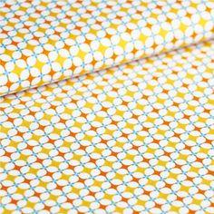 Tissu Grany orange