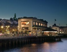 Waterfront Restaurant in San Francisco.  A bit touristy but food is good and the views are incredible.