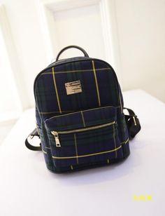 Женский маленький рюкзак в клетку, цена 423 грн., купить в Днепре — Prom.ua (ID#275618138)