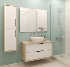 Picture of Modern bathroom interior. Bathroom Renos, Bathroom Renovations, Bathroom Interior, Small Bathroom, Bathroom Ideas, Serene Bathroom, Bathroom Updates, Gold Bathroom, Design Bathroom