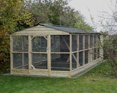 9 x 21' chicken coop and run | Wells Poultry Blog