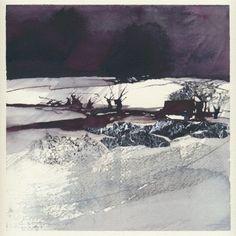 Galleri   annatornquist Anna, Landscape Art, Landscape Paintings, Watercolour Painting, Watercolours, Holy Mary, Winter Scenery, Watercolor Techniques, Photo Art