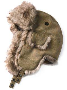 Barbour - Fliegerkappe 'Tweed Hunter'