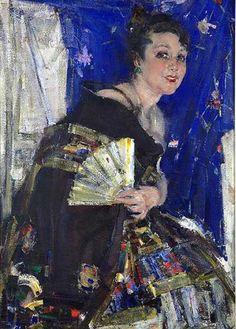 Nicolai Ivanovich Fechin (Russian/American,1881 -1955)