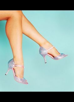 Bordello Shoes Violette Sandals with Turquoise Rhinestones
