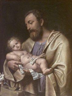 St. Joseph with Child Enrico Benzoni—1889