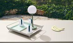 Combo Design is officieel dealer van Fermob ✓ Jouw tuin meubelen van Fermob makkelijk te bestellen ✓ Gratis verzending (NL) ✓ Snelle levertijd Led Lamp, Diffuser, Usb, Vans, Table, Plastic, Furniture, Design, Home Decor
