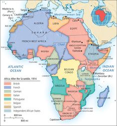 """Explain the """"Scramble for Africa"""" - Chapter 33 European People, European History, Black History, Congo Free State, French West Africa, Congo River, Map Of Britain, Belgian Congo, Planetary System"""