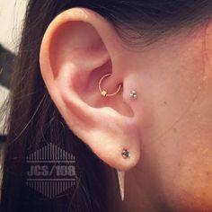 Inspira-te nestas 18 ideias de piercings de orelha bem sexys ;)