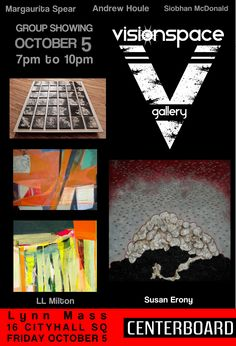 Join us for our October Group Showing at visionspace gallery. October 5!
