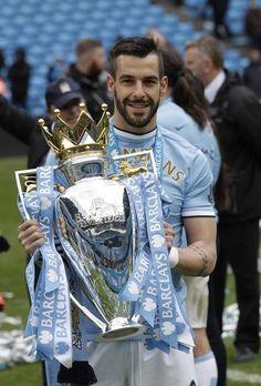 Alvaro Negredo -Manchester City 2013-2014 British Premier League Champions