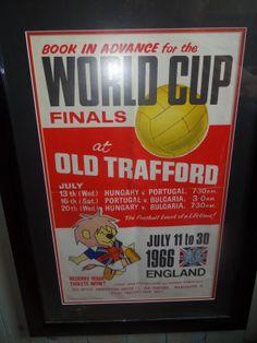 WORLD CUP 1966 ORIGINAL POSTER -
