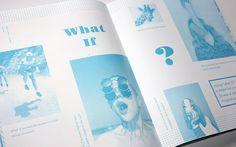 Menta Magazine by Lacey Verhalen, via Behance