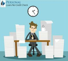 Get financial support in your trouble time despite suffering from bad credit rating in the form of personal loans no credit check.