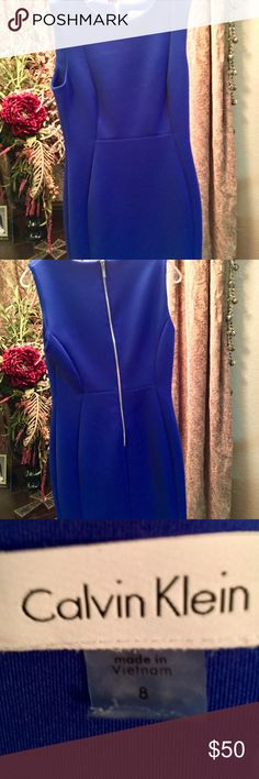 Calvin Klein Dress Great condition! Like NWOT Open to reasonable offers! Thanks for checking out my closet! Calvin Klein Dresses Midi