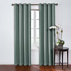Round And 95 X 52 Inch Mushroom Blackout Window Curtain Panel Eclipse Panels