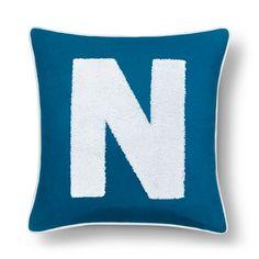 "Varsity Monogram Pillow Cover 16""X16"" - Pillowfort™ : Target"