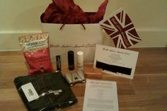 British fashion awards 2012 gift bag #packaging