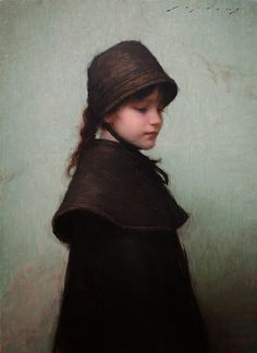 Innocence by Jeremy Lipking, Oil, 16 x 22 Painting People, Figure Painting, Painting & Drawing, John Singer Sargent, Nyc In December, Face Proportions, Classical Realism, Oil Portrait, Portrait Paintings