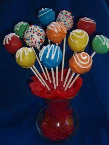 cake pops for favors 1st bday party pinterest. Black Bedroom Furniture Sets. Home Design Ideas