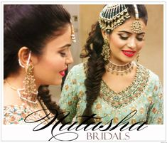 Absolutely stunning Pakistani wedding jewelry. That necklace in particular is amazing.