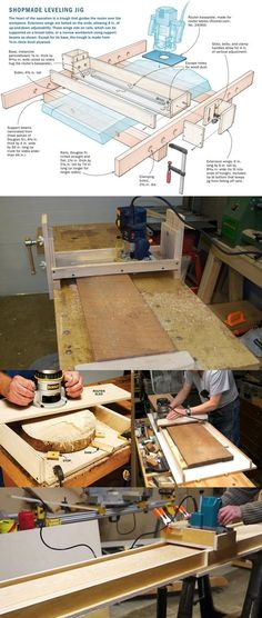 Router planing sleds
