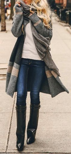 #Sweater #Clothes #Winter Style Ideas On How To Wear Knit Clothes This season