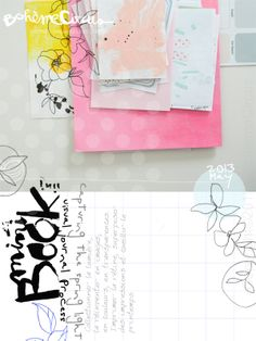 Bohème Circus: visual journal & layout
