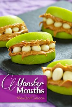 Check out this Monster Mouths Halloween Treat! So much fun!