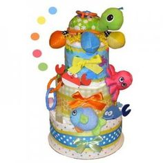 sea themed diaper cake - Google Search