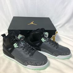 official photos 92e2a e559d Jordan Shoes   New Nike Air Jordan Spizike Gg Size 7y   Color  Black    Size  7g