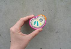 Hey, I found this really awesome Etsy listing at https://www.etsy.com/listing/196833352/embroidered-brooch-hand-drawn-fabric
