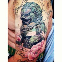japanese foo dog painting - Google Search